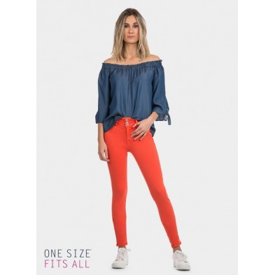 ONE SIZE DOUBLE UP COLOR CALABAZA
